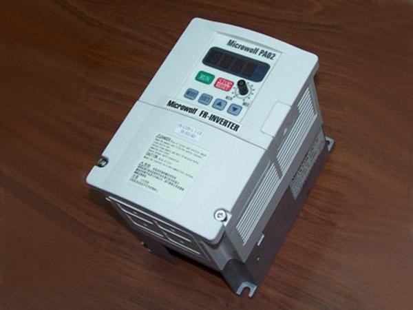 变频器可实现电机软启动