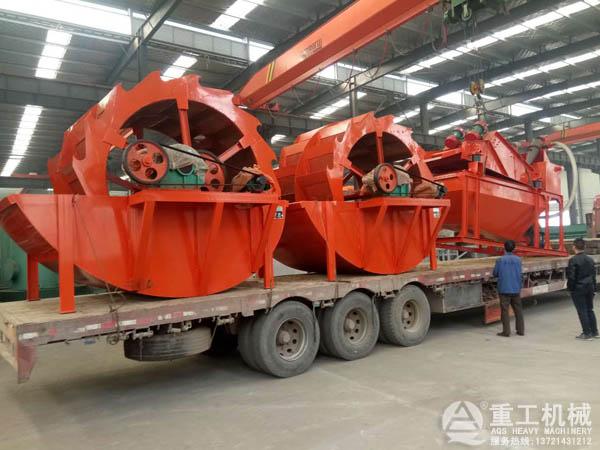 石粉洗砂生产线设备发货