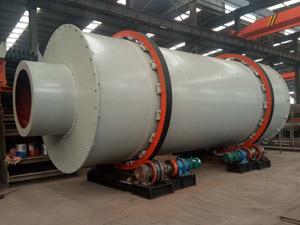 3.2×8米大型三回程烘干机生产全过程