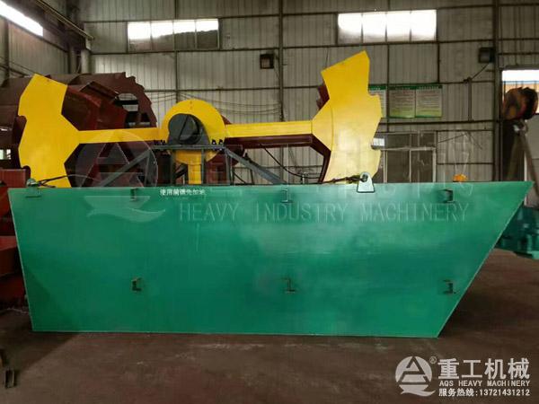 大型4020轮斗洗砂机每小时洗砂120-150吨