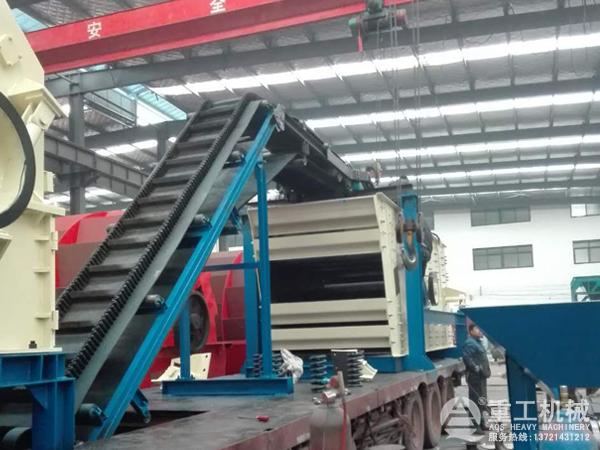 移动制砂生产线设计
