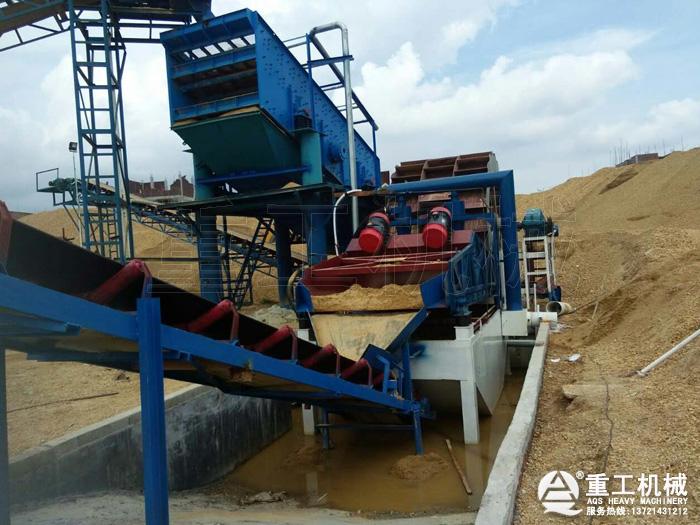 筛洗砂设备