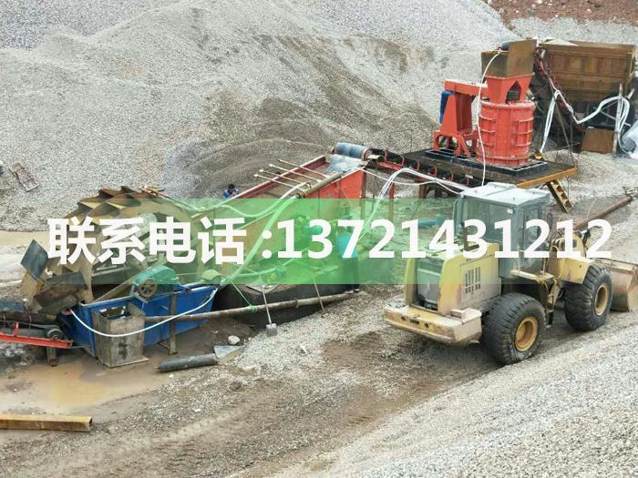 新型高效时产80-100吨河卵石制砂机